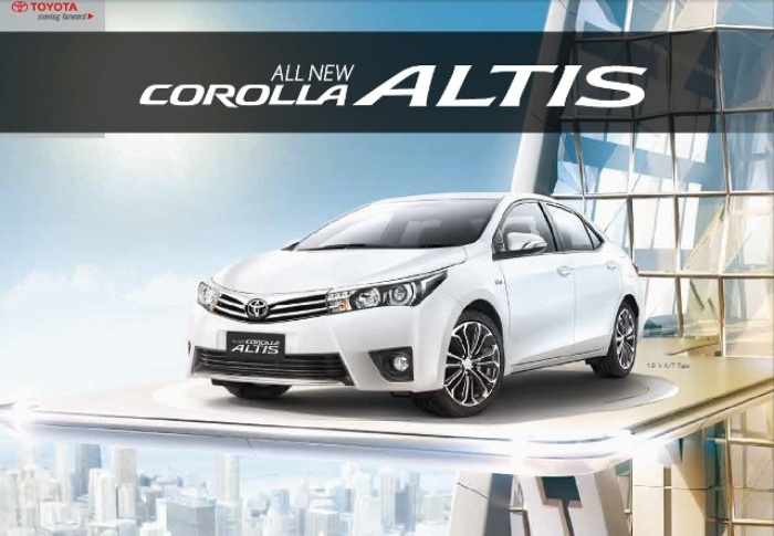 Brosur-Toyota-All New Corolla Altis